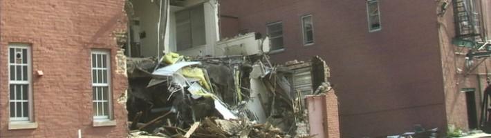 Catholic School Building demolishing in Chicago