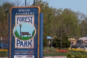 Forest Park Illinois Sign