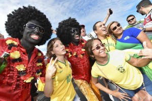 More World Cup Fans in Blackface
