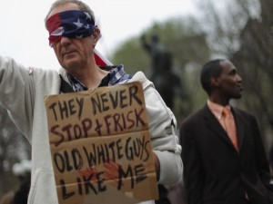 They Never Stop and Frisk Old White Guys