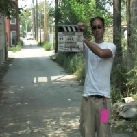 Jason Madoch slates in the alley