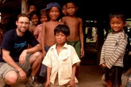 Jonathan Lacocque on location in Cambodia for A PERFECT SOLDIER