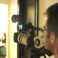 Eric Battersby behind the camera