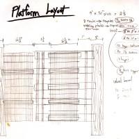 Platform Layout Sketch for the Blazen Platform