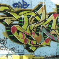 West Side tags #1 - Support Your Local Graffiti Artist!